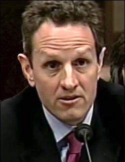 Timothy Geithner Testifying Before Senate Banking on April 3, 2008 About the Bear Stearns Bailout by the New York Fed