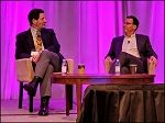 Ken Fisher and Chip Roame at Tiburon CEO Summit