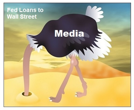 Media Ignores Fed's Massive Repo Loans