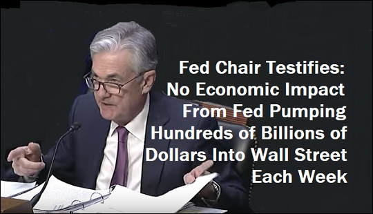Image result for New York Fed uses a 'money button' to create liquidity for their primary dealers