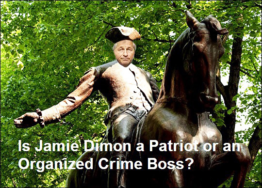 Jamie Dimon Says He's a Patriot