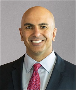 Neel Kashkari, President of the Federal Reserve Bank of Minneapolis