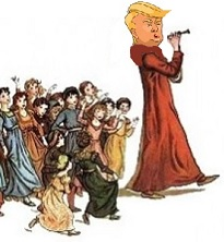 Donald Trump -- Pied Piper to Wall Street (Thumbnail)
