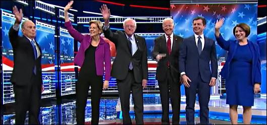 Democratic Debate February 19, 2020
