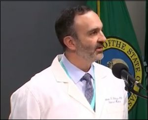 Ettore Palazzo, M.D., Chief Medical and Quality Officer for EvergreenHealth in Kirkland, Washington, Announces Total of 6 Dead in Three Day Period in Washington State
