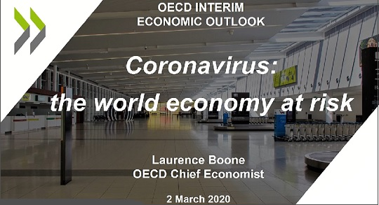 OECD Report Cover Shows a Completely Empty Airport