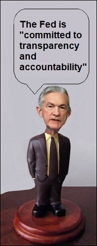 Fed Chair Jerome Powell Graphic