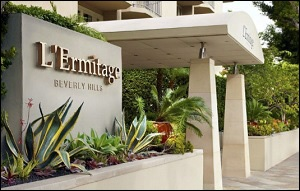 L'Ermitage Hotel, Beverly Hills