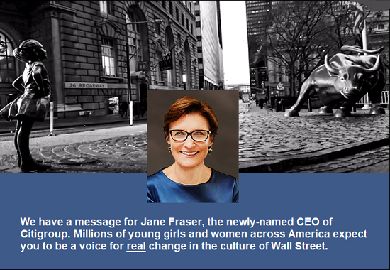 Jane Fraser, Newly-Named CEO of Citigroup