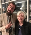 David Zervos and Janet Yellen, April 2, 2018