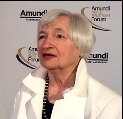 Janet Yellen Speaking at the Amundi World Investment Forum, June 28-29, 2018 in Paris