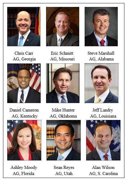 Executive Committee of the Republican Attorneys General Association (RAGA)