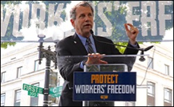 Wall Street vs. Workers Senator-Sherrod-Brown