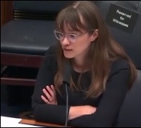 Alexis Goldstein Testifying at House Crypto Hearing on June 30, 2021