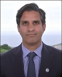 Daleep Singh, Deputy National Security Advisor, at the G7 Meeting in Cornwall, England in June 2021