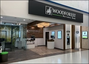 Newly Opend Woodforest National Bank Location at 2014 S. Irby St. , Florence, SC. Located Inside Walmart.