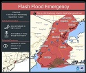 Flash Flood Emergency Tweeted by National Weather Service for NYC Area