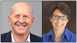 David Solomon, CEO of Goldman Sachs; Jane Fraser, CEO of Citigroup